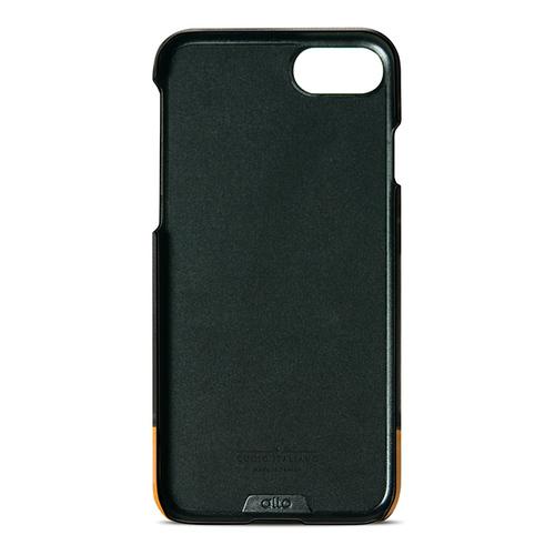 Alto|iPhone SE2/ iPhone 8 / iPhone 7 真皮手機殼背蓋,Metro(黑色/淺棕)