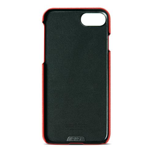 Alto|iPhone 8/ iPhone 7 真皮手機殼背蓋,Original(珊瑚紅)