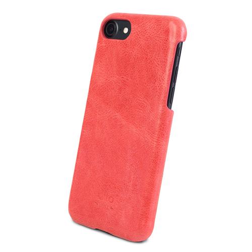 Alto|iPhone SE2/8/7 真皮手機殼背蓋,Original(珊瑚紅)