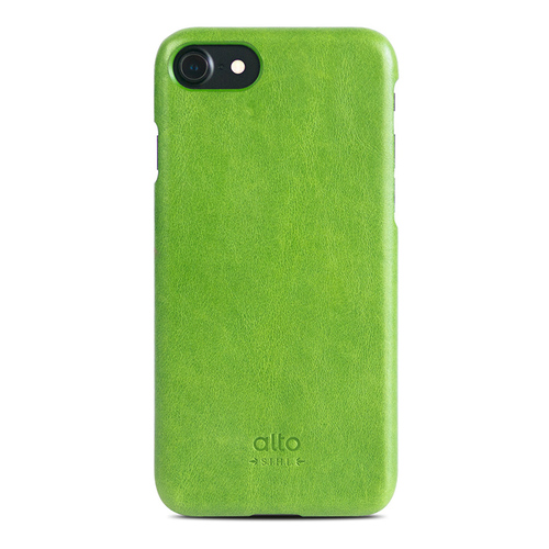 Alto|iPhone 8 / iPhone 7 真皮手機殼背蓋,Original(萊姆綠)