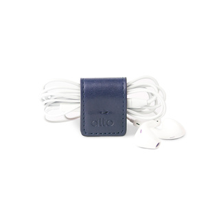 alto 多功能皮革磁鐵夾/書籤/筆夾/耳機收納 Smart Holder(海軍藍)