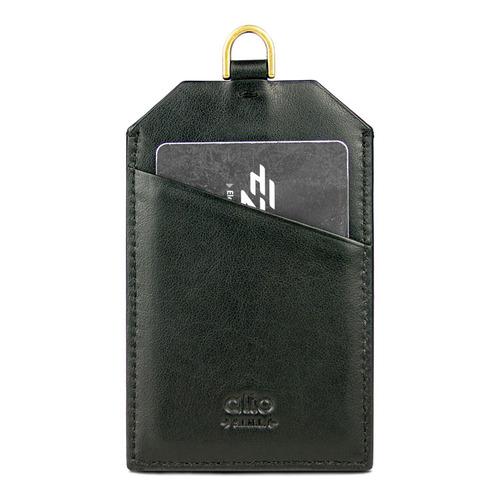 Alto|alto 皮革證件套 Badge Holder (渡鴉黑)
