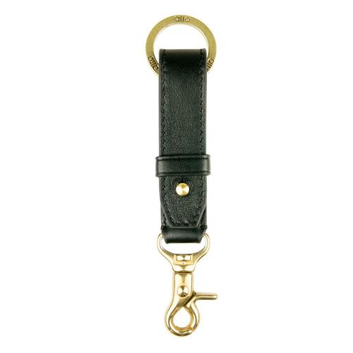 Alto|alto 兩用皮革鑰匙圈Key Holder  (渡鴉黑)