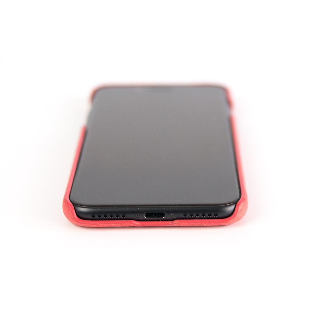 Alto iPhone X / Xs 皮革保護殼 Original (珊瑚紅)