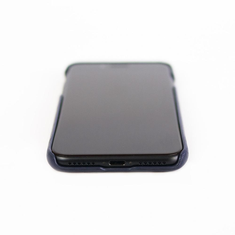 Alto|iPhone X / Xs 皮革保護殼 Original (海軍藍)