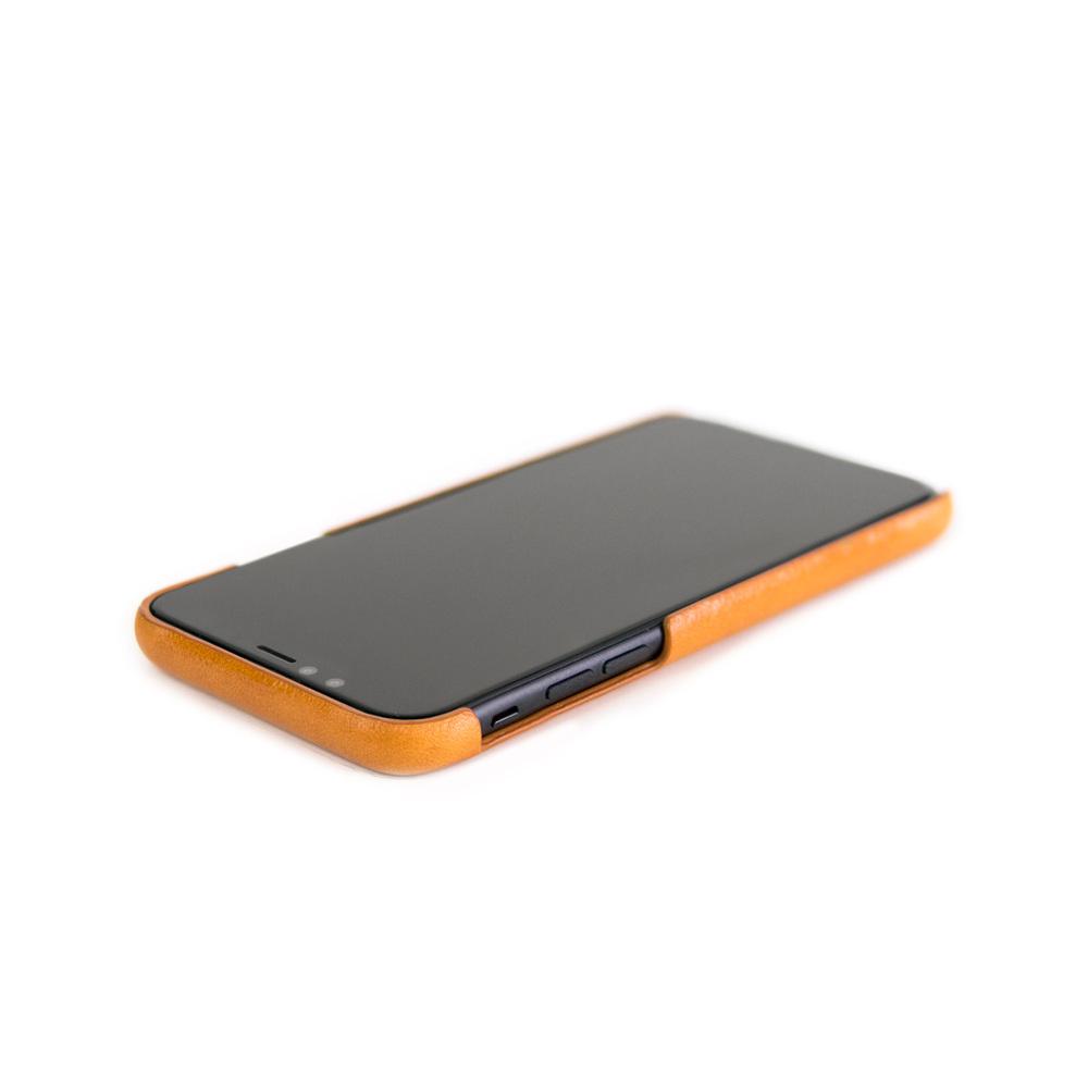 Alto|iPhone X / Xs 皮革保護殼 Original (焦糖棕)