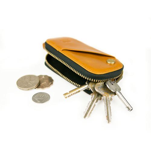 Alto|鑰匙收納包 Key Pouch (焦糖棕)