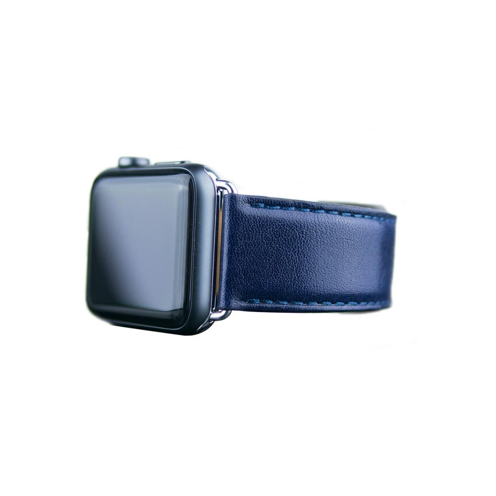 Alto|Apple Watch 皮革錶帶 42/44mm - 海軍藍