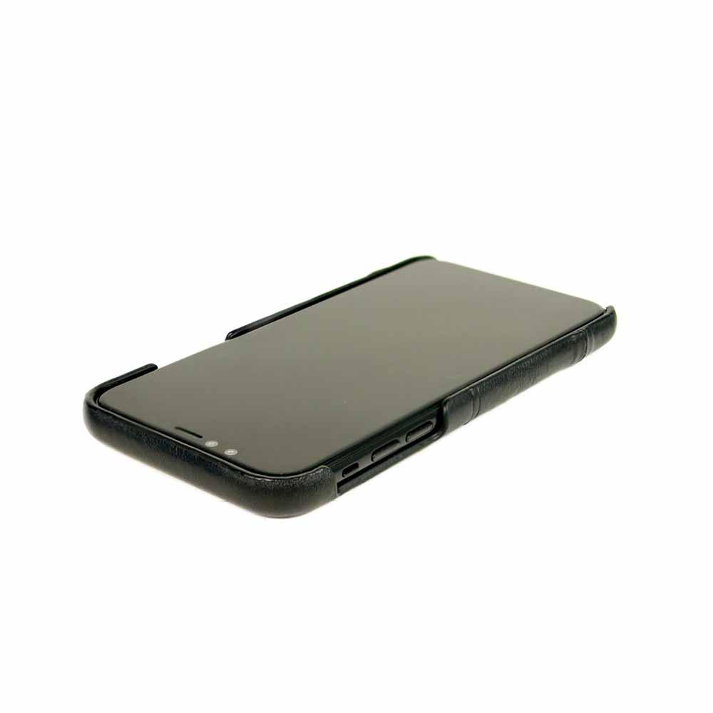 Alto|iPhone Xs Max 皮革保護殼 Metro (渡鴉黑)