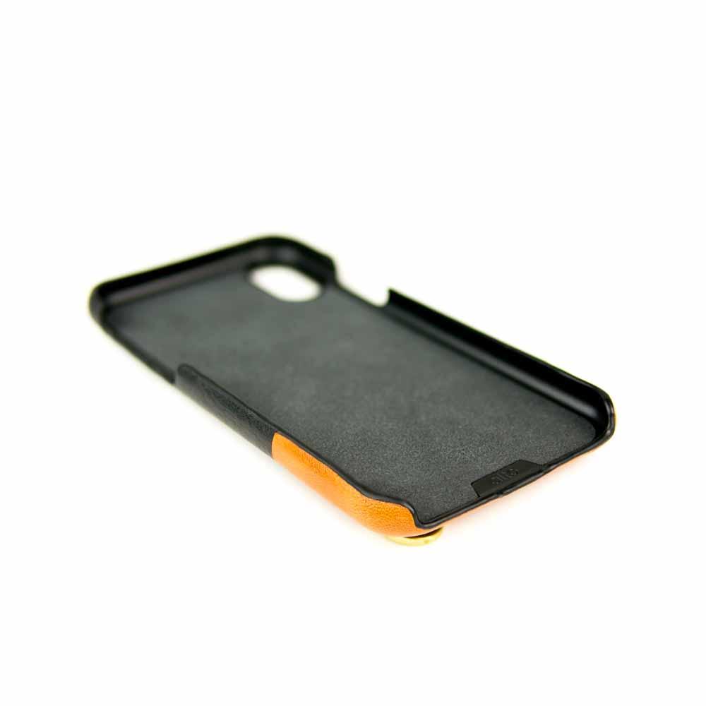 Alto|iPhone XR 皮革保護殼 Anello (渡鴉黑)