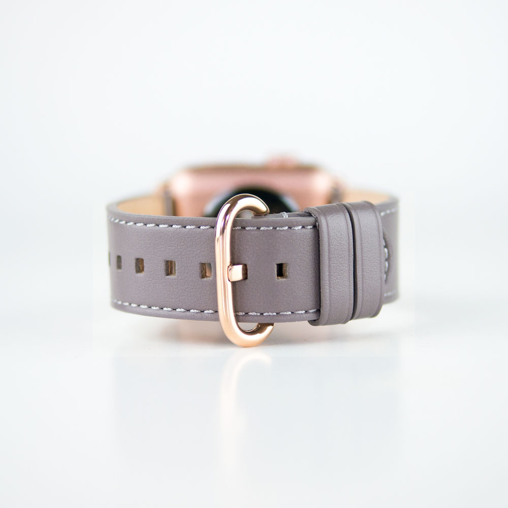 Alto|Apple Watch 皮革錶帶 38mm/40mm - 焦糖棕