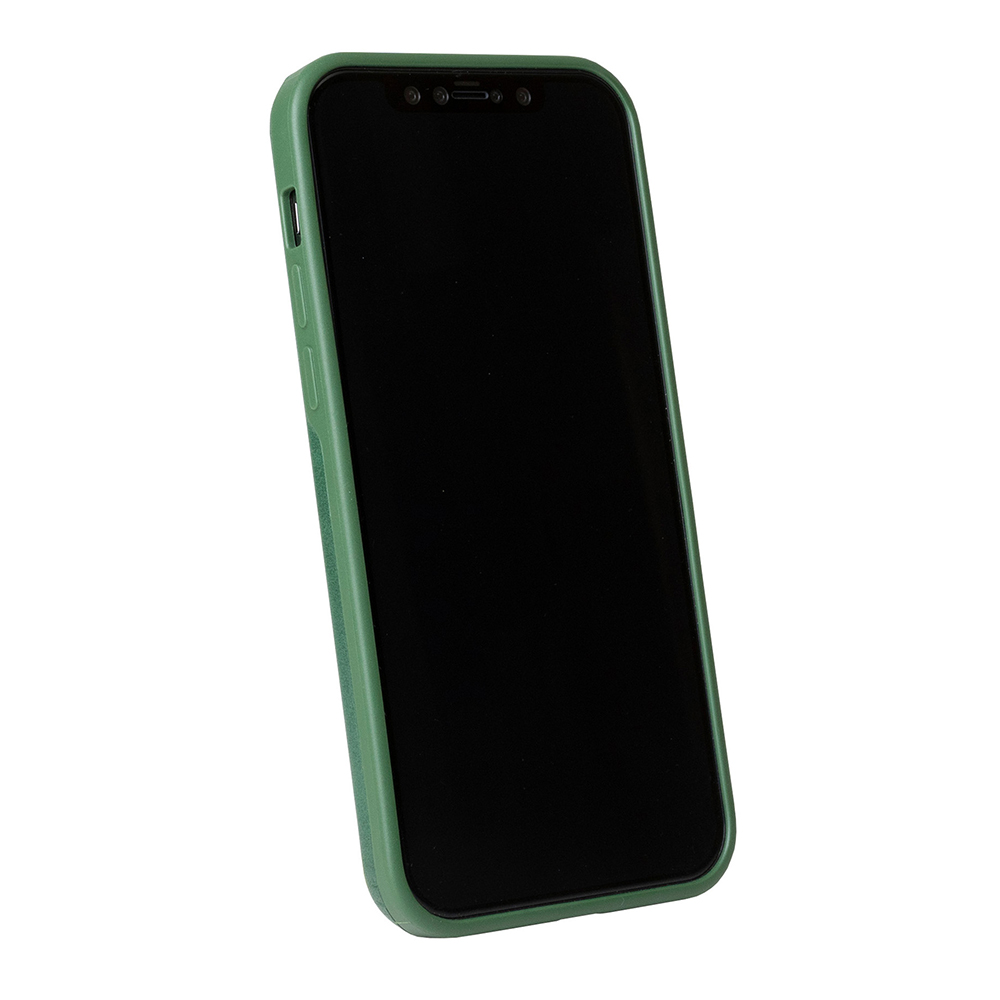 Alto|iPhone 12 Pro Max  6.7吋 真皮手機殼背蓋 Original 360 - (森林綠)