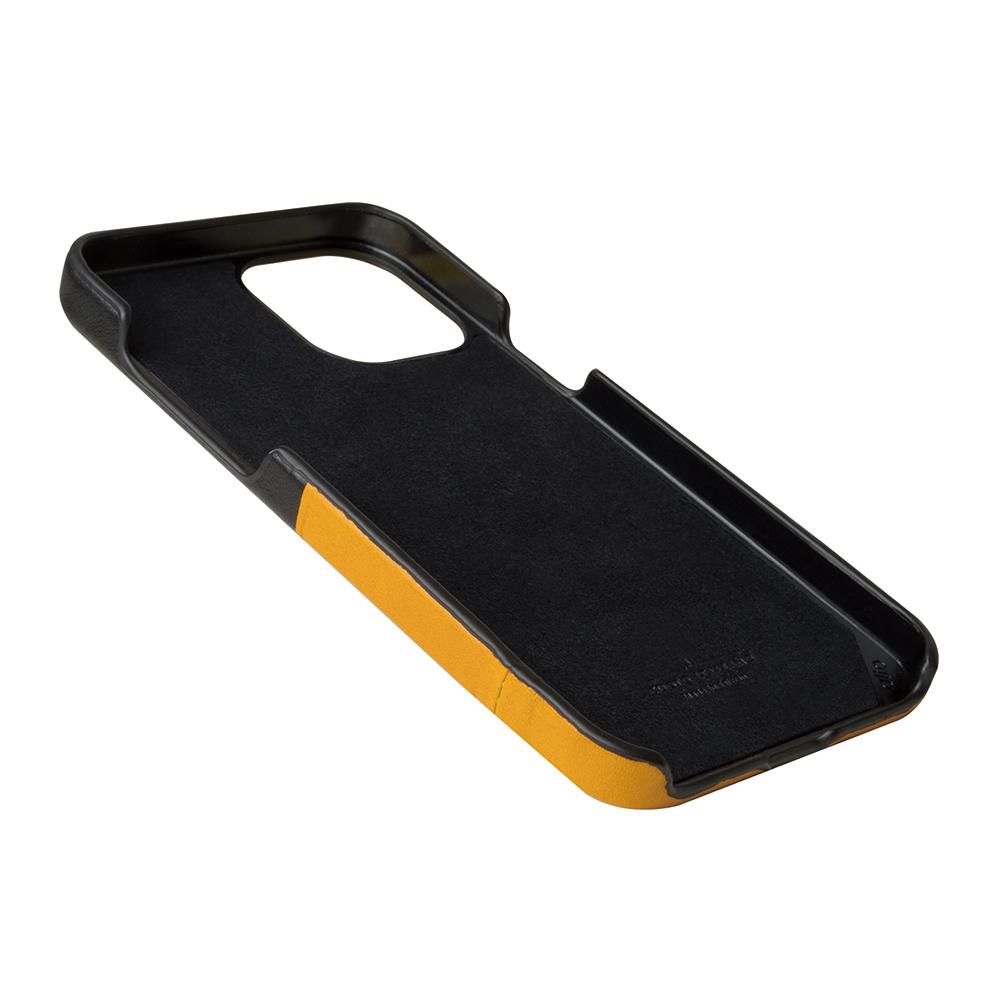 Alto|iPhone 12 Pro Max 6.7吋 插卡皮革手機殼背蓋 Metro (焦糖棕/渡鴉黑)