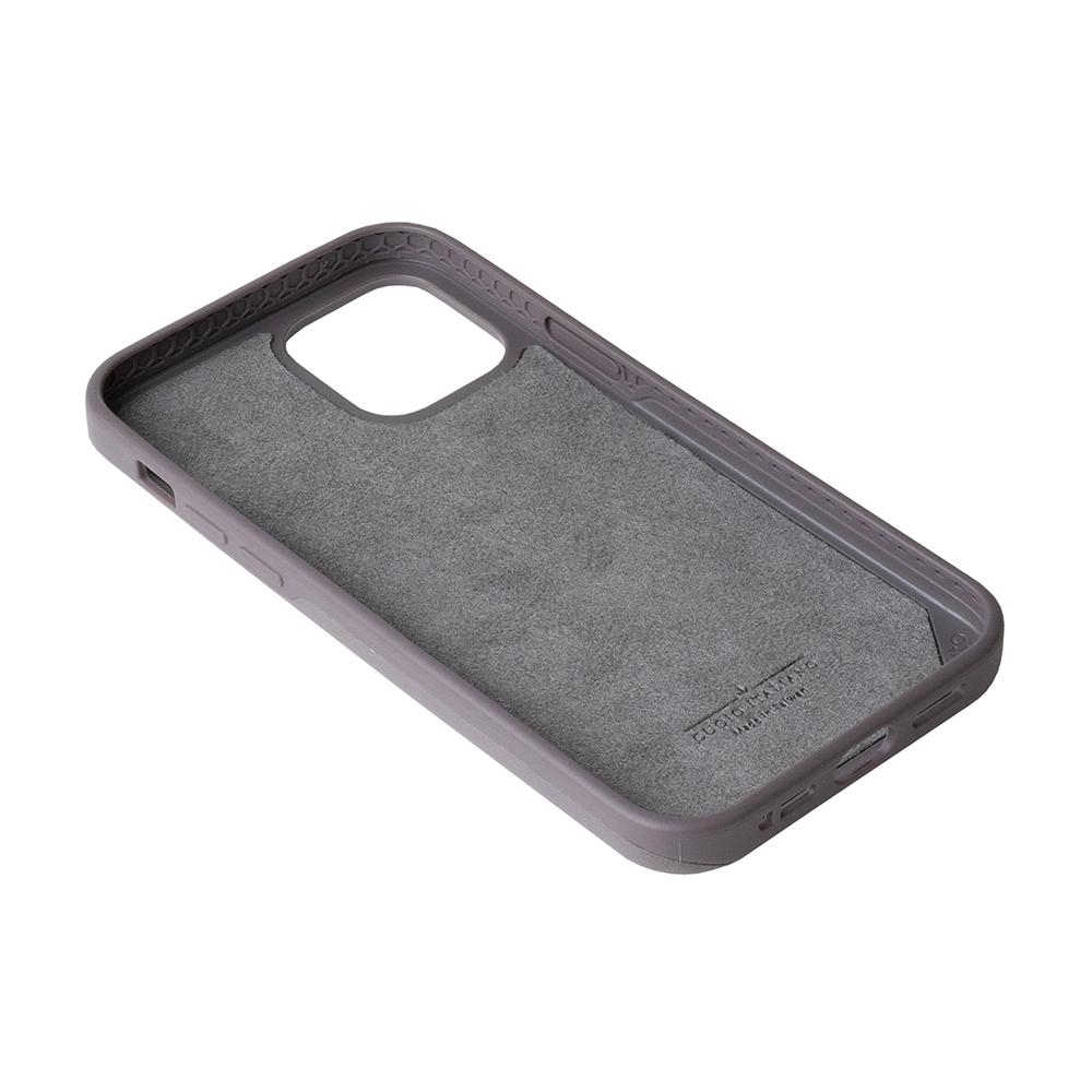 Alto|iPhone 12 /Pro 6.1吋 插卡式皮革防摔手機殼 Metro 360 (礫石灰/本色)