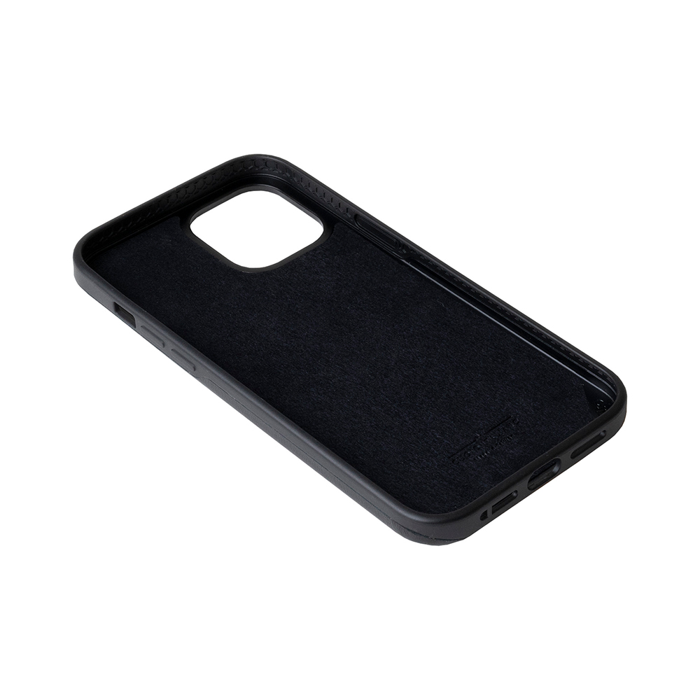 Alto|iPhone 12 /Pro 6.1吋 插卡式皮革防摔手機殼 Metro 360 (渡鴉黑/焦糖棕)