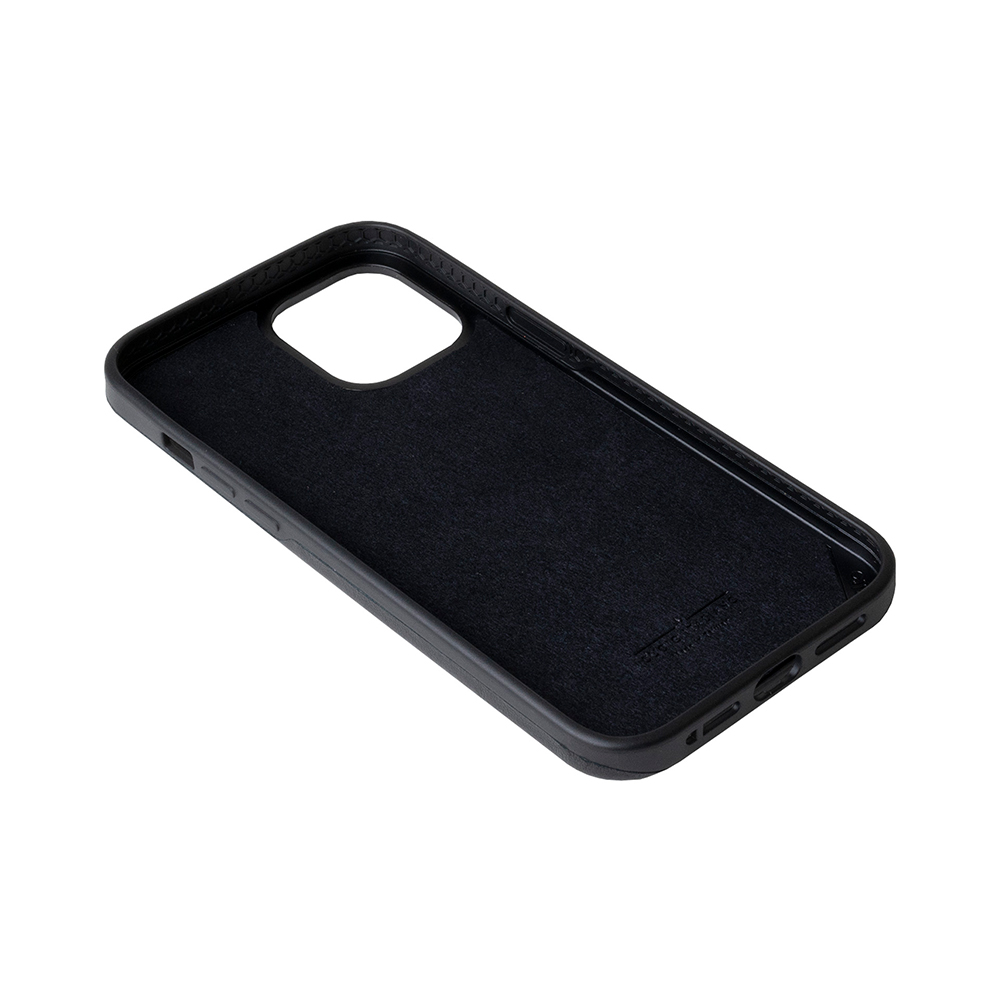 Alto iPhone 12 /Pro 6.1吋 插卡式皮革防摔手機殼 Metro 360 (渡鴉黑)