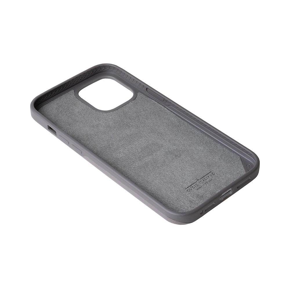 Alto|iPhone 12 Pro Max 6.7吋 插卡式皮革防摔手機殼 Metro 360 (礫石灰/本色)