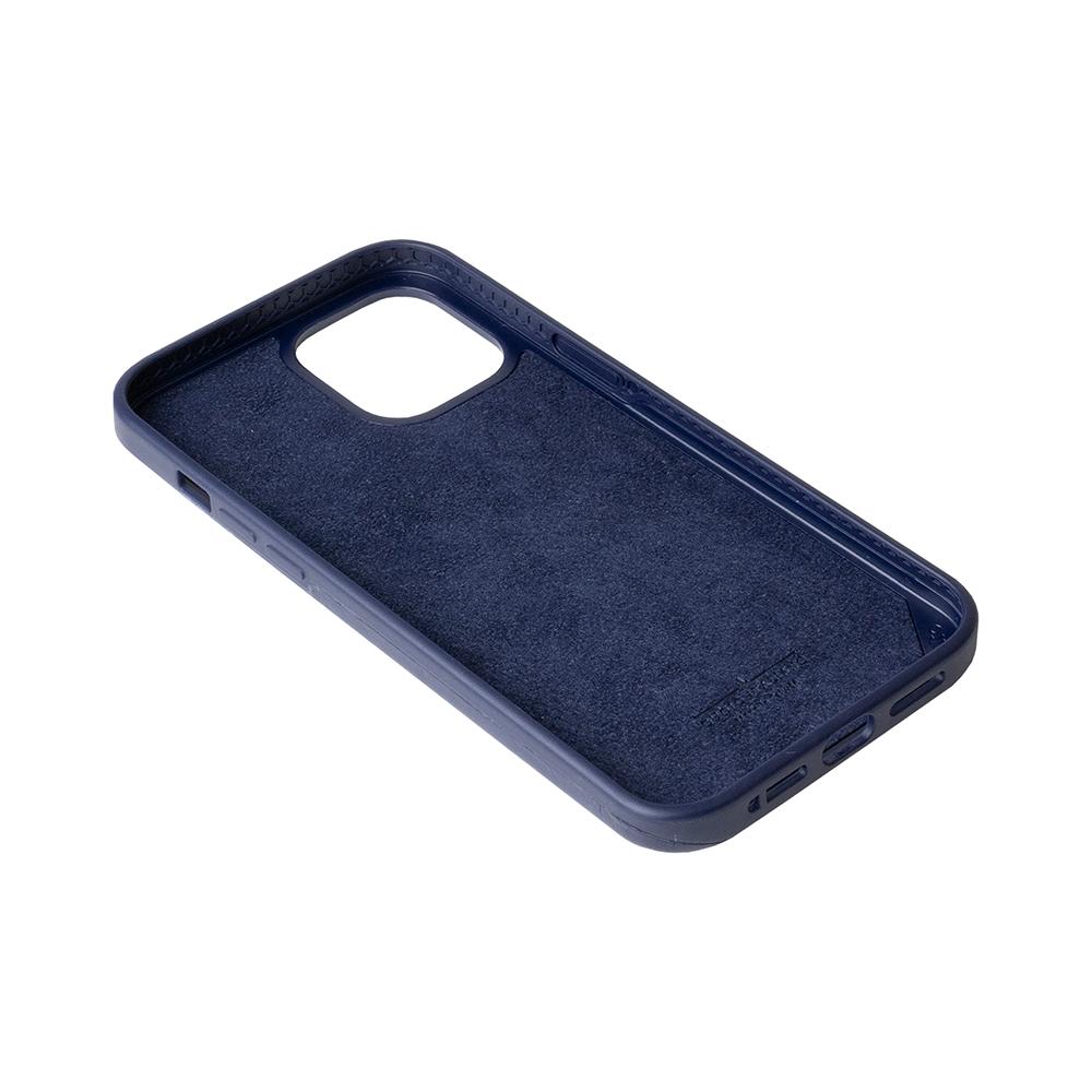 Alto iPhone 12 Pro Max 6.7吋 插卡式皮革防摔手機殼 Metro 360 (海軍藍/礫石灰)