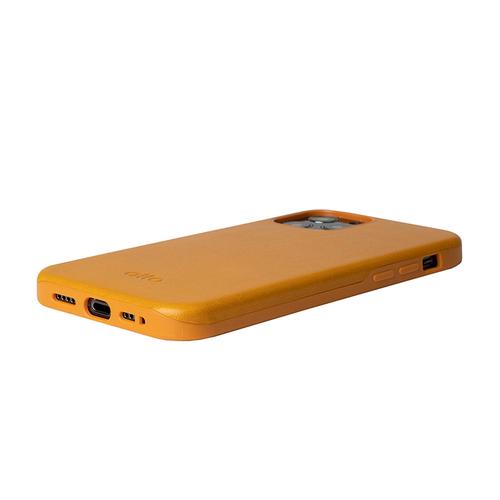Alto iPhone 12 mini  5.4吋 真皮手機殼背蓋 Original 360 - (焦糖棕)
