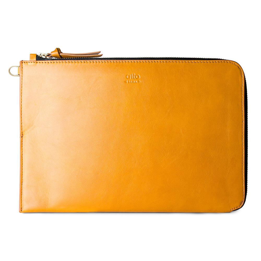 Alto| iPad Pro 11吋 /10.5吋 皮革收納包 – 焦糖棕