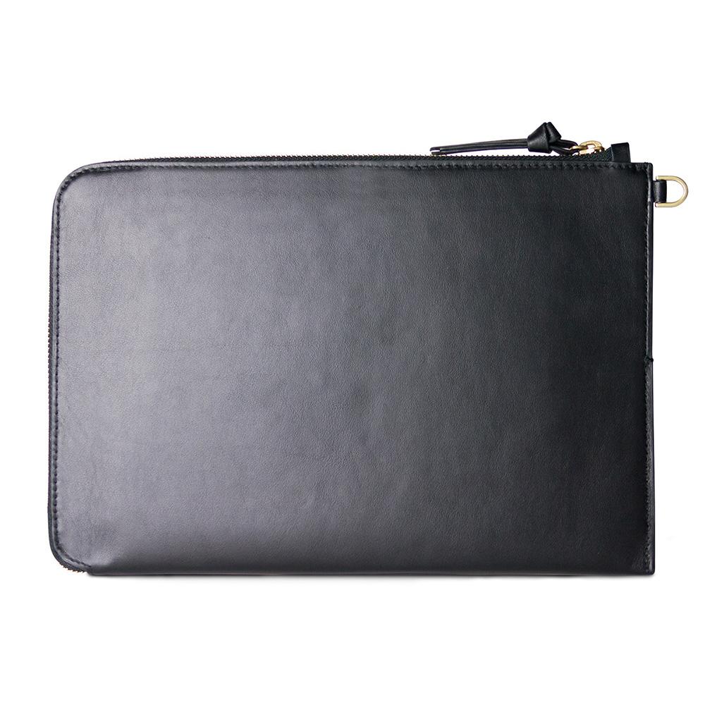 Alto| iPad Pro 11吋 /10.5吋 皮革收納包 – 渡鴉黑