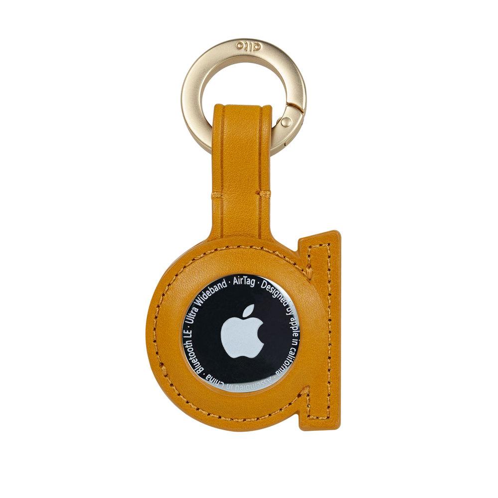 Alto|AirTag 皮革掛環/鑰匙圈 – 焦糖棕