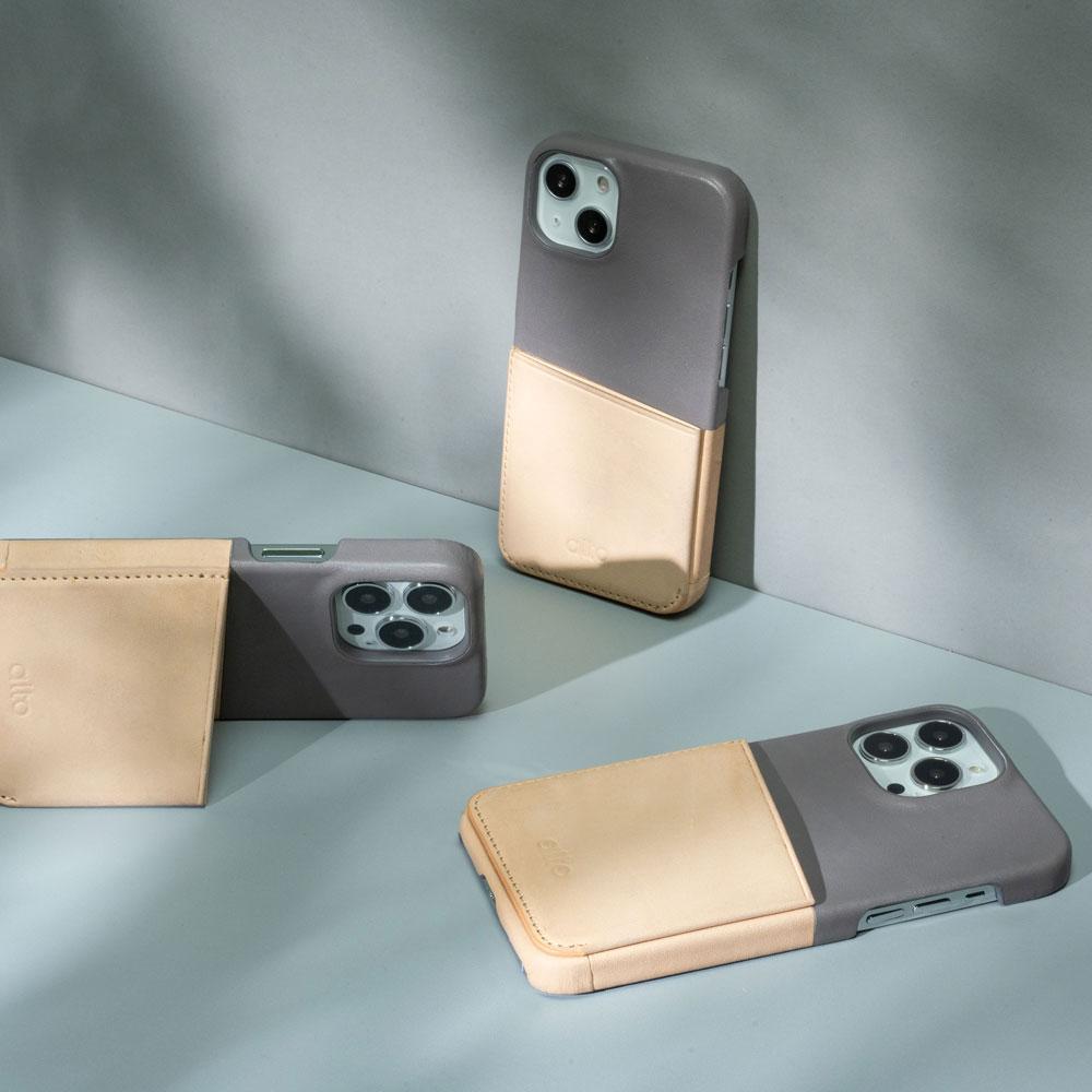 Alto Metro 插卡式皮革手機殼 iPhone 13/Pro/Max