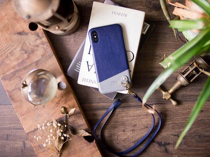 (複製)Alto|iPhone X 皮革保護殼 Anello (渡鴉黑)