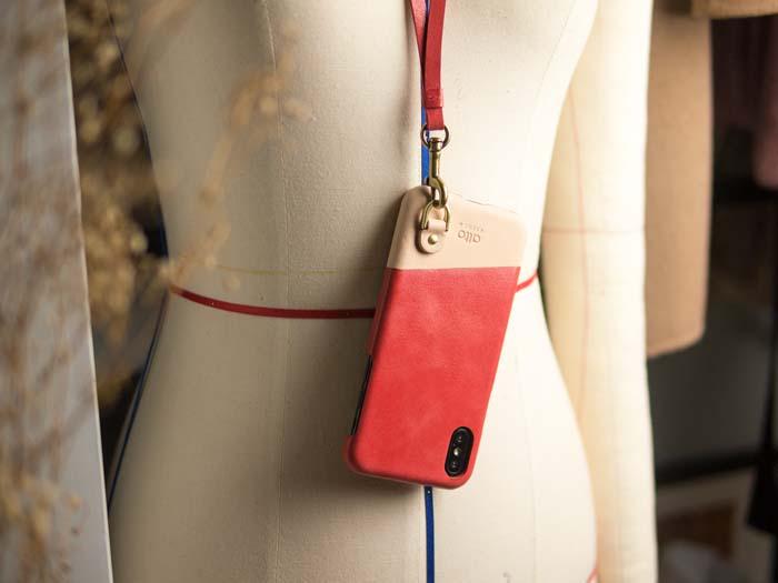 (複製)Alto|iPhone X 皮革保護殼 Anello (海軍藍)