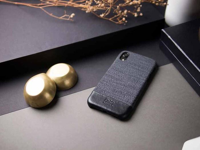 Alto|iPhone XR 皮革保護殼 Denim (狼灰)