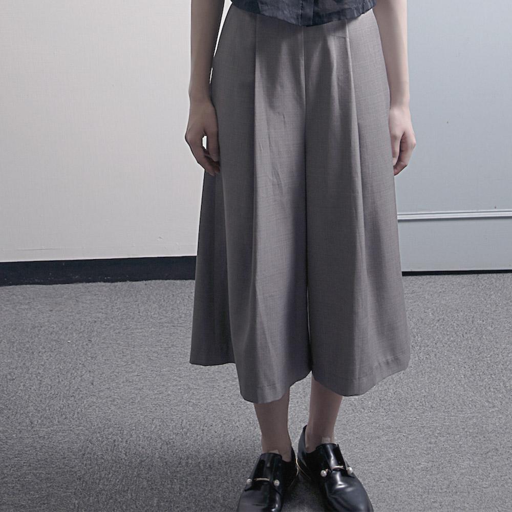 DIALOGUE|平織八分褲-若雲