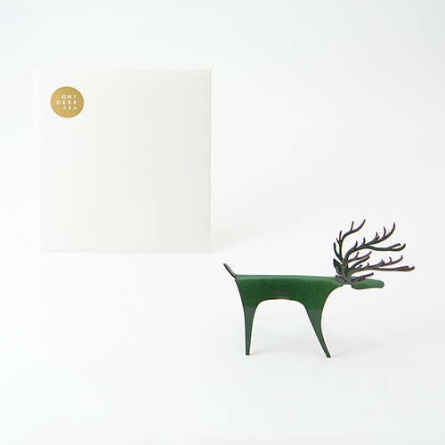 PLEASANT 經典快鹿禮卡 - 彩色版 Deer Card Classic - Color(綠色)
