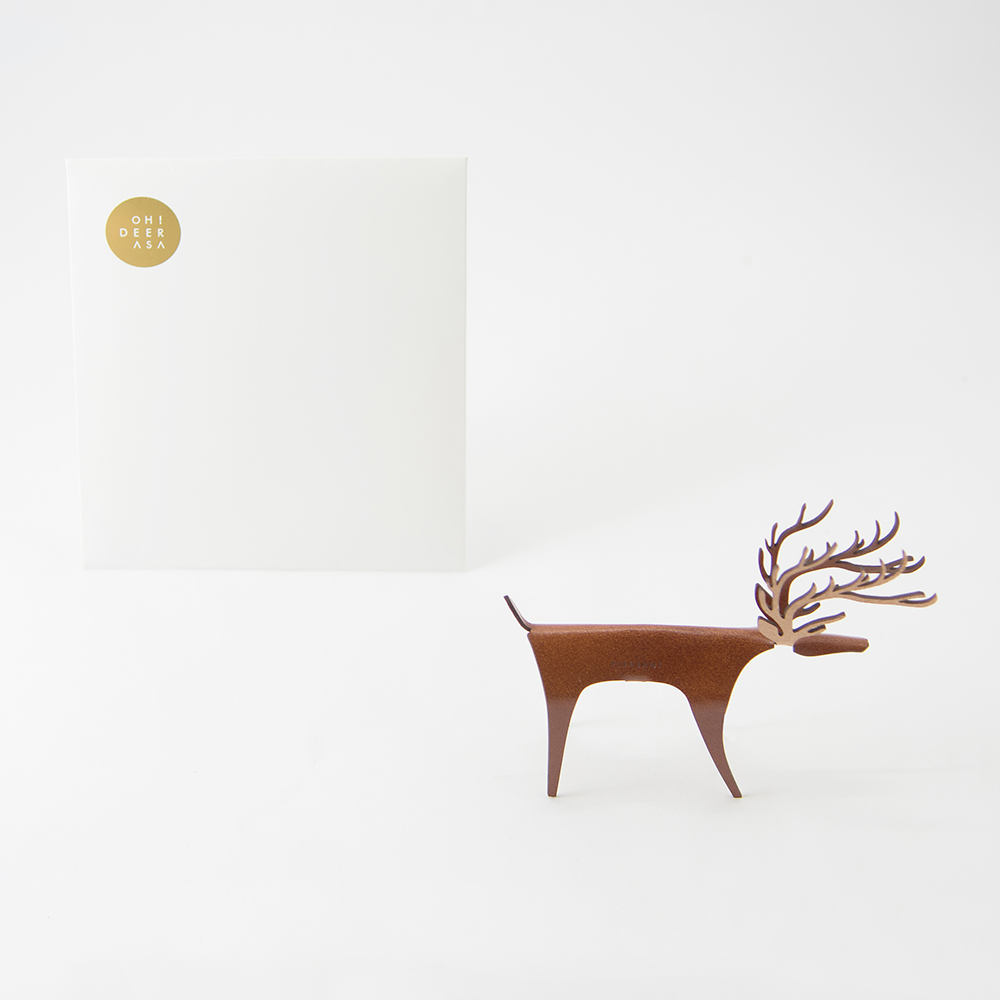 PLEASANT|經典快鹿禮卡 Deer Card Classic(深棕)