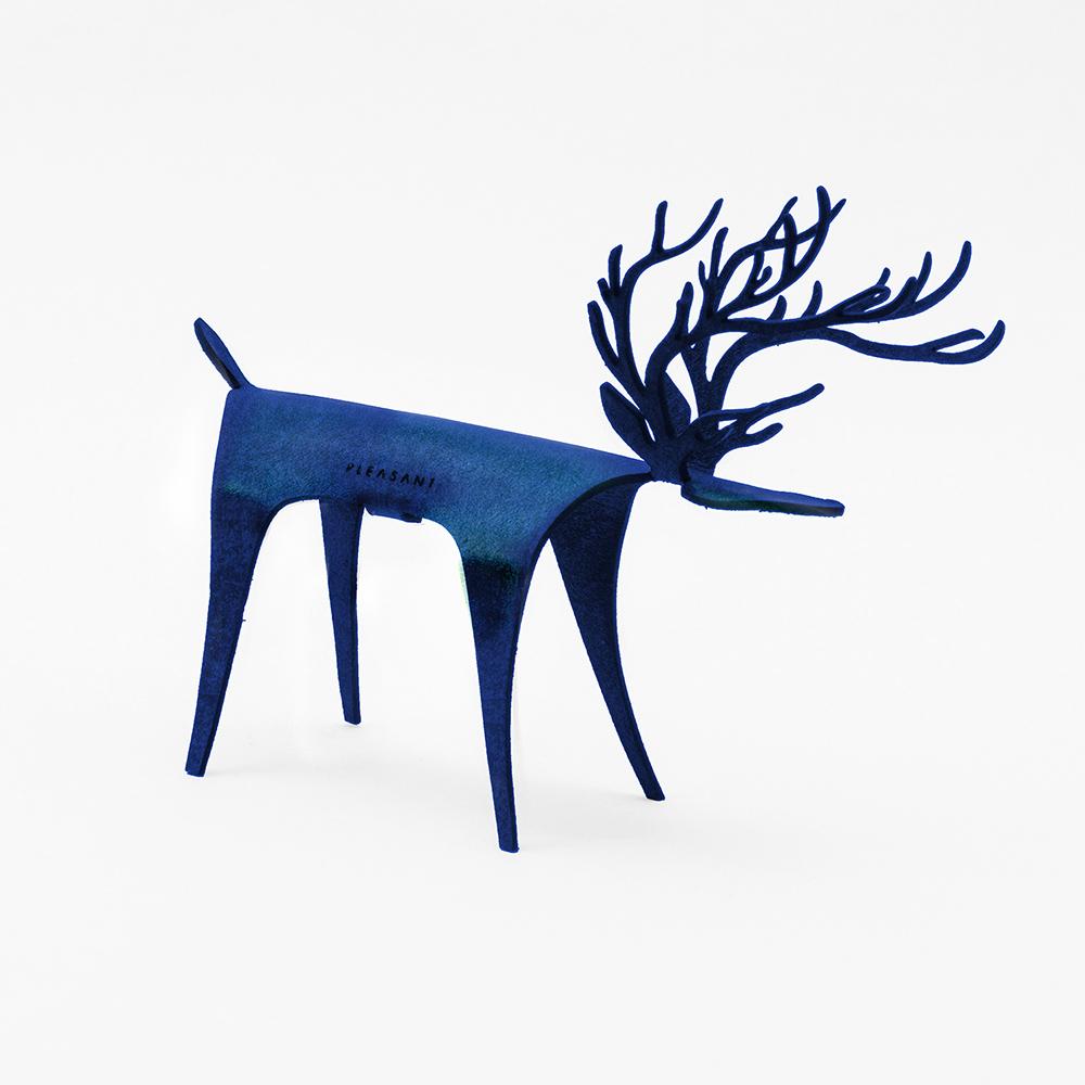 PLEASANT|經典快鹿禮卡 - 彩色版 Deer Card Classic - Color(藍色)