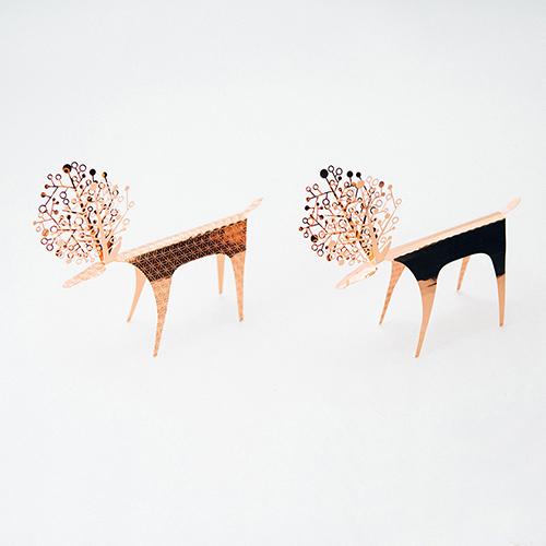 PLEASANT|紅銅快鹿禮卡 Deer Card Copper