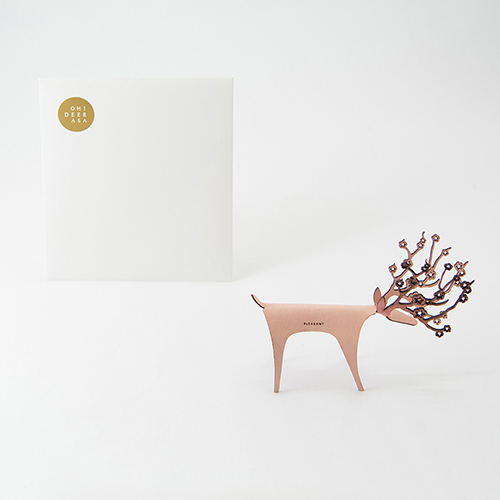 PLEASANT|櫻花快鹿禮卡 Deer Card Blossom(粉紅)