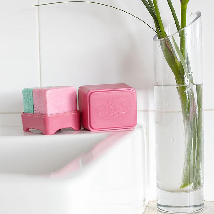 紐西蘭Ethique|洗髮餅專用收納盒-莓紅