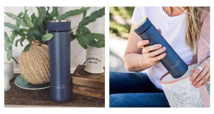 (複製)澳洲Fressko 繽紛炫彩雙層不鏽鋼保溫杯 – 綻放粉