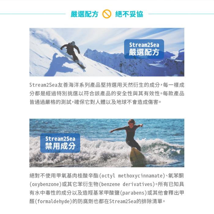(複製)美國Stream2Sea 友善海洋 二合一洗髮沐浴乳(180ml)