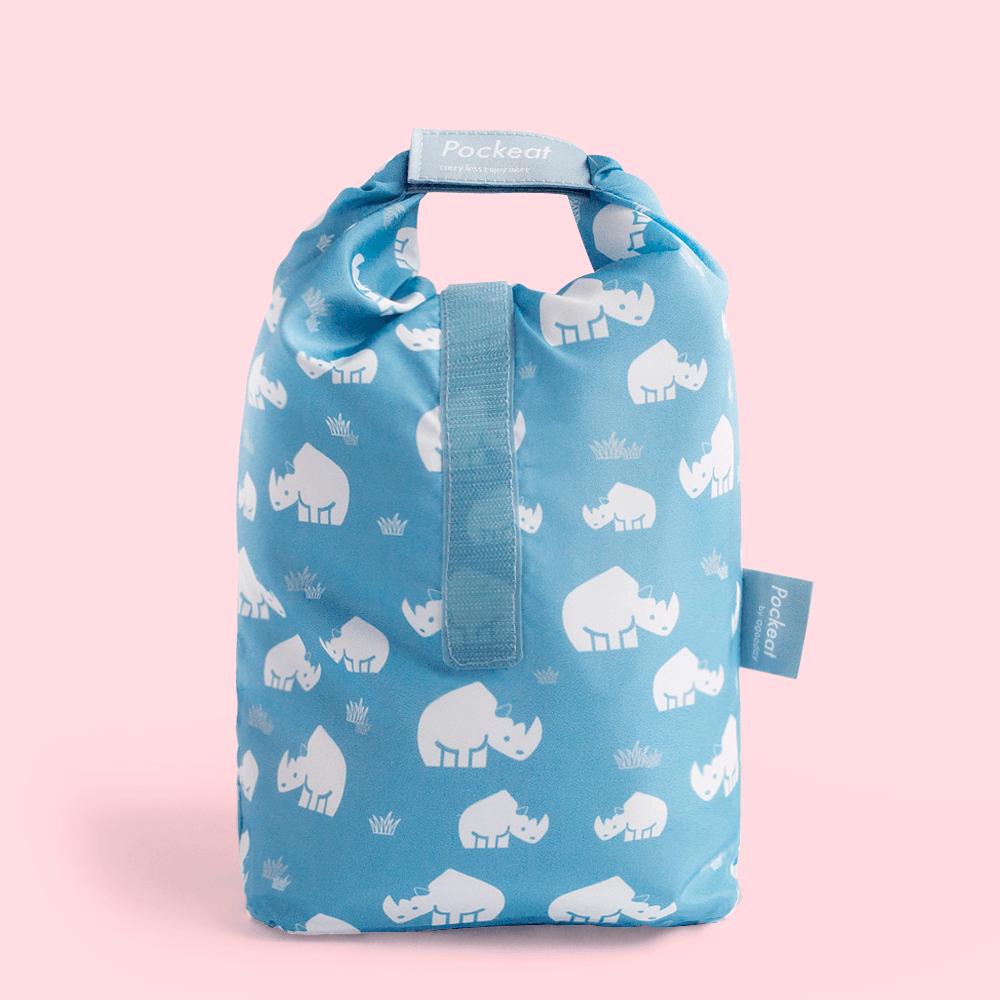 好日子|Pockeat環保食物袋  (大食袋) 犀牛