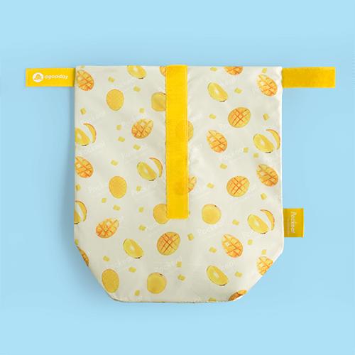 好日子   Pockeat環保食物袋  (大食袋) 芒果