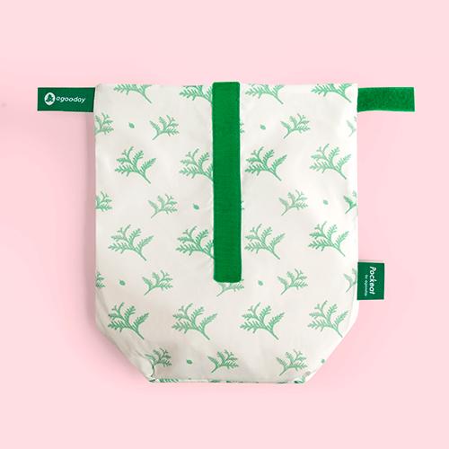 好日子 | Pockeat環保食物袋  (大食袋) 雪中紅檜