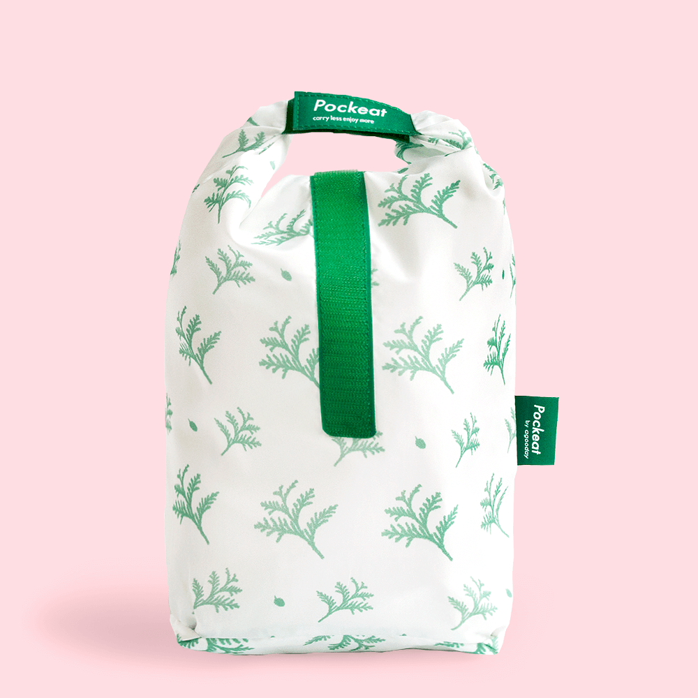 好日子|Pockeat環保食物袋  (大食袋) 雪中紅檜