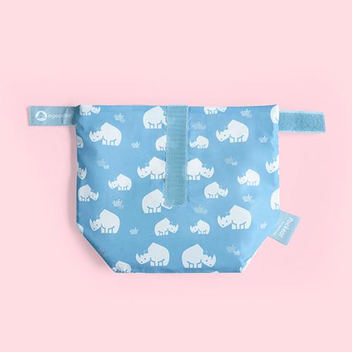 好日子|Pockeat環保食物袋  (小食袋) 犀牛