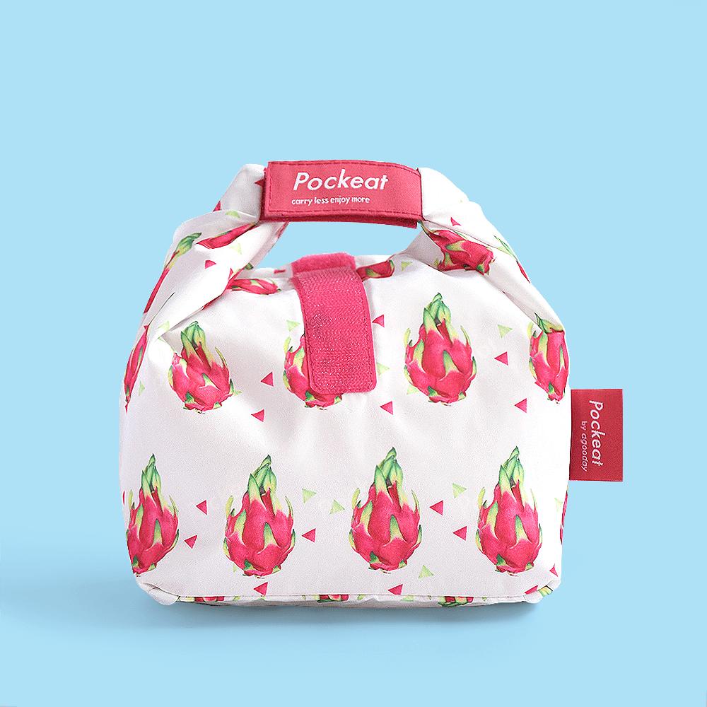 好日子 | Pockeat環保食物袋  (小食袋) 火龍果