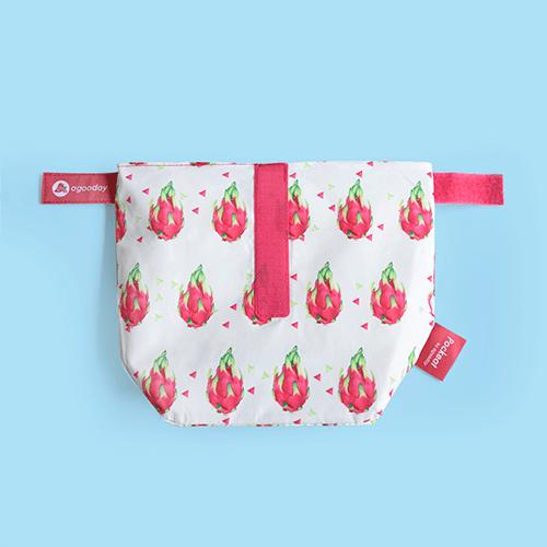 好日子|Pockeat環保食物袋  (小食袋) 火龍果