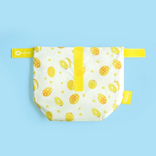 好日子|Pockeat環保食物袋  (小食袋) 芒果