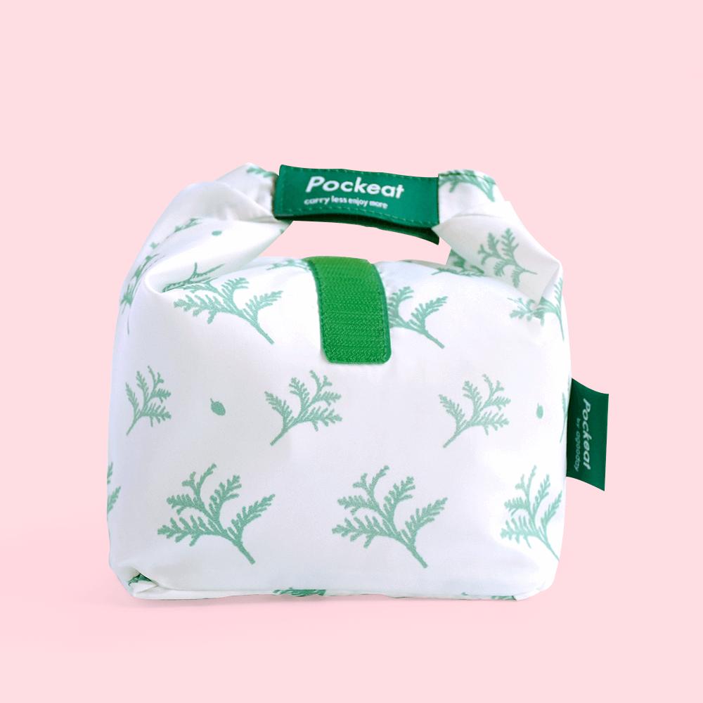 好日子 Pockeat環保食物袋  (小食袋) 雪中紅檜