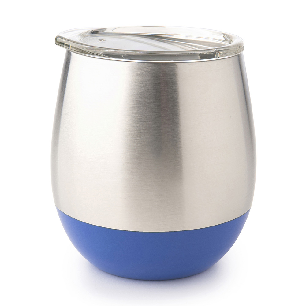 美國U Konserve|雙層保溫不鏽鋼杯 - 一抹天藍