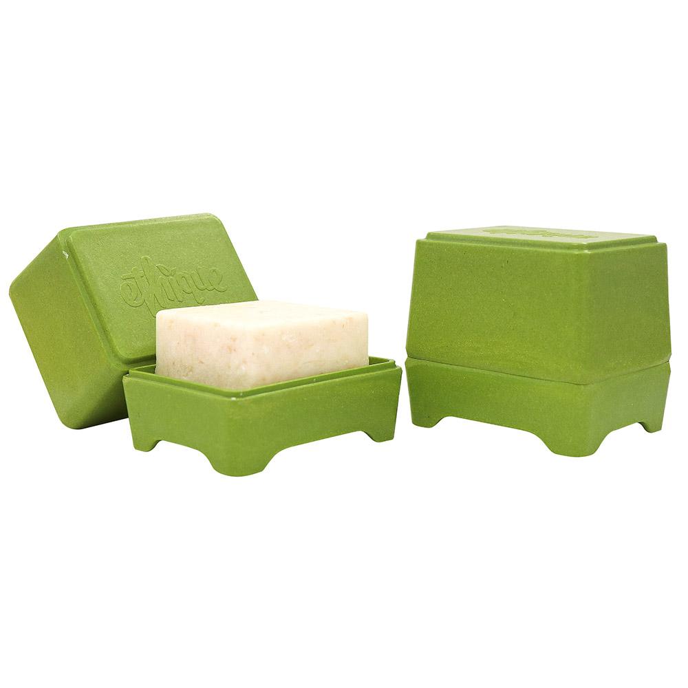 紐西蘭Ethique|洗髮餅專用收納盒-草綠